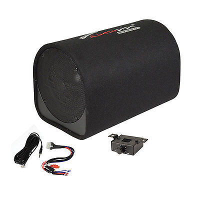 10  Car Audio Power Amp   Sub Woofer Active Bass Tube Loaded Powered Subwoofer