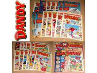 The Dandy Comic Book Bundle - x32 - 1996, 1997, 1998, 1999, 2000