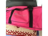 Leon Paul pink Latitude fencing bag- Brand New