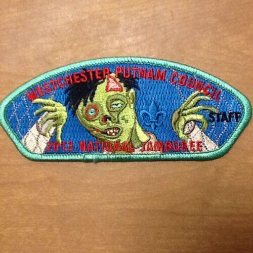 Ktemaque Lodge 15 - 2013 Natl Jamboree Westchester Putnam Staff patch