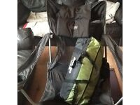 Vango 3man tent with blacks chair