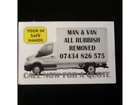 VAN AND MEN VERY RELIABLE INSURED FRIENDLY 07434826575