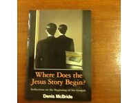 Where Does The Jesus Story Begin? Book.