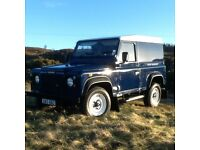 Landrover Defender 90 , Caledonian Blue , Immaculate condition 2001