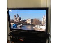 "Panasonic Viera 42"" television."