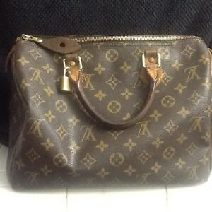Authentic Louis Vuitton Classic TH0090 Speedy Bag