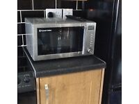 Russell Hobbs Silver Microwave Oven