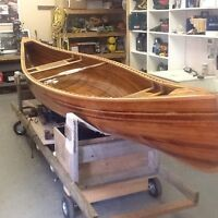 REDUCED 16' hand craft canoe