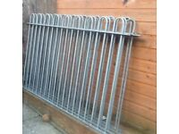 Steal fencing or gates