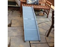 Dog car ramp, folding, used, assisting pets get in car