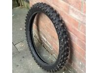Motocross Tyres (Used Front + Rear)