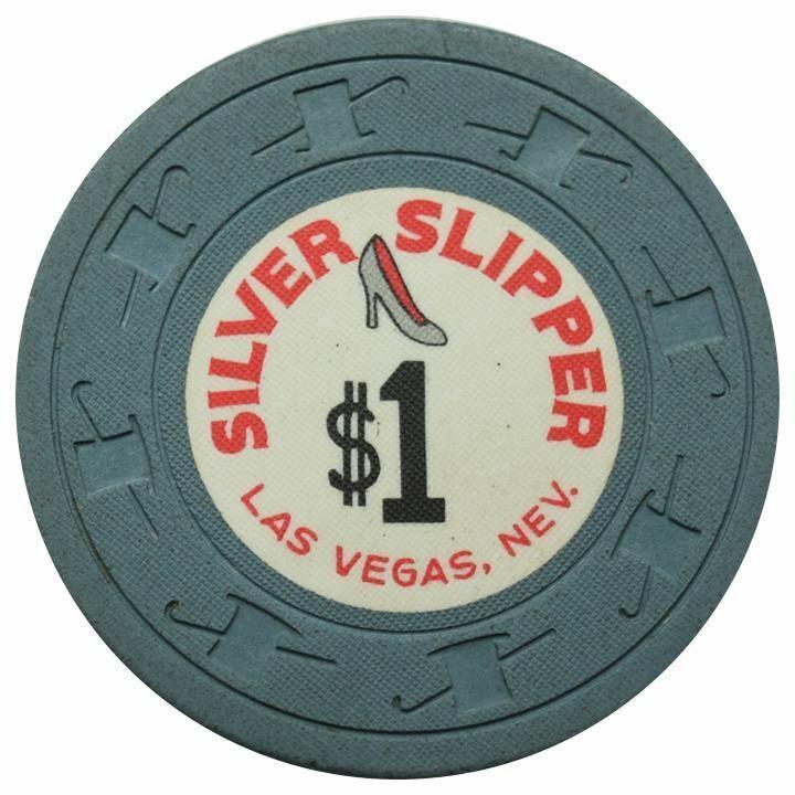 Silver Slipper Casino Las Vegas NV $1 Chip 1969
