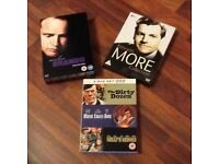 Set of 3 classic box sets,Marlon Brando,Kenneth More,and world war 2 triple,only£8 the lot,loc deliv