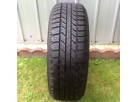 4*4 Goodyear wrangler 255/65/R17 tyres and navara/pathfinder steel spare or alloy wheel