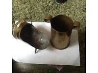 Trench art pieces