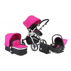 Little Devils Travel System Pram