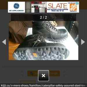 Very Good Condition steel toed shoes Kitchener / Waterloo Kitchener Area image 2