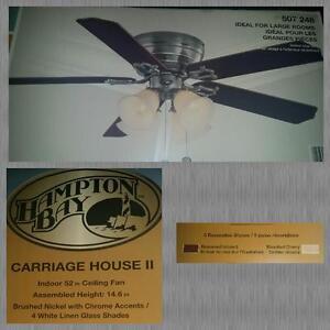 Hampton Bay ceiling fan