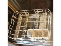 Dishwasher (integrated), half size to fit in 450 carcass