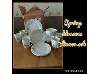Spring Blossom 12 piece dinner set