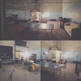 BAND REHEARSAL AND STORAGE ROOM FOR RENT!