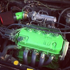 *AS IS~NEED GONE~ 1989 Honda CRX Si d15swap 170k {REDUCED PRICE)