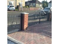 gates blacksmith welding fencing