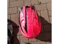 Fox V1 Motocross kids helmet 49-51cms