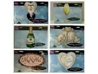 Wedding supershape foil balloons