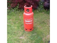 Calor 19kg propane gas bottle FULL