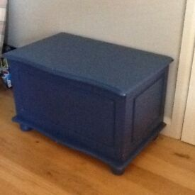 Large Blue Toy Box
