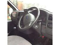 Ford transit Luton van with tail lift !!NO VAT!!!