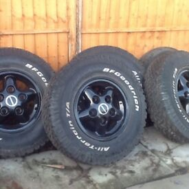 Land Rover 90/110 alloys