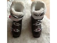Rossignol All Track Ladies Ski Boots size 24.5 WORN ONLY ONCE!