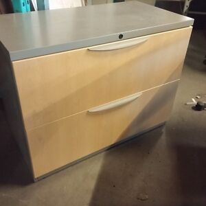 Haworth 2 Drawer Lateral File Cabinet