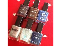 Avon nail polish bundle x 6. All new or tried once.