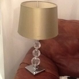 Lamp silver with detail