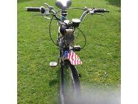 Motorised bike Moped Not Road Legal