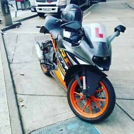 Ktm Rc 125, Learner Legal, Akropovic, LOG BOOK, x2 Keys