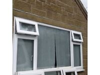 Upvc window 2.57m (w) x 1.29m (h)