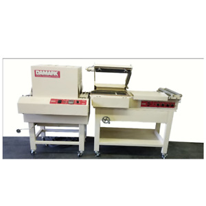 Used Shrink Wrapping Machine: Damark L-sealer & Shrink Tunnel