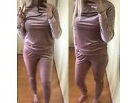 Velvet Zip Loungesuit