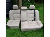 Vauxhall vectra 2002 reg cream leather interior