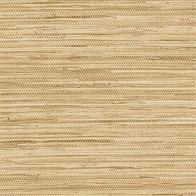 Blonde and Beige Faux Grasscloth Wallpaper NT33704