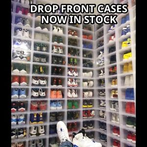 Drop front containers shoe box Nike adidas Yeezy supreme jordan