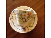 Collection of Vintage Crockery by Phoenix Ware in Bouquet design