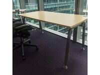 FREE DELIVERY - Straight Office Desks