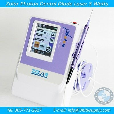 Dental Diode Laser 3 Watts Comple Set.portable 3 Years Warranty For Laser Fda