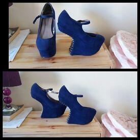 size 4 front heels