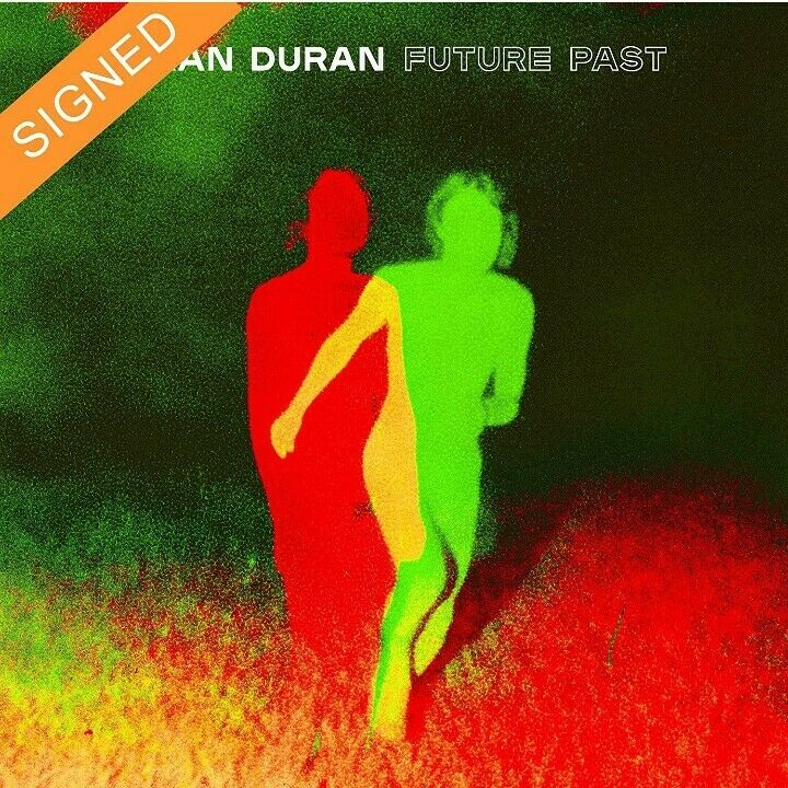 DURAN DURAN - FUTURE PAST - DELUXE BOOK-STYLE CD & HAND SIGNED INSERT. NEW.